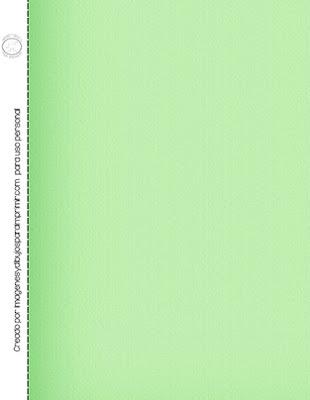 papel scrapbook verde