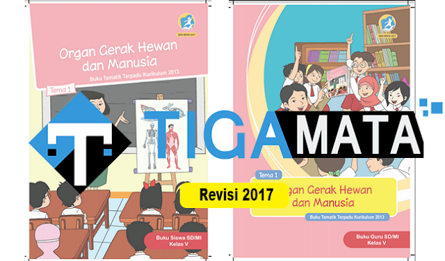 Download Buku K13 Kelas 5 SD Semester 1 Revisi 2017 Pdf