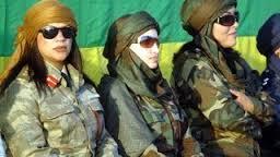الفيلم الوثائقي خطير عن نساء وحارسات القذافي وكيف كان يتعامل معهن 18+