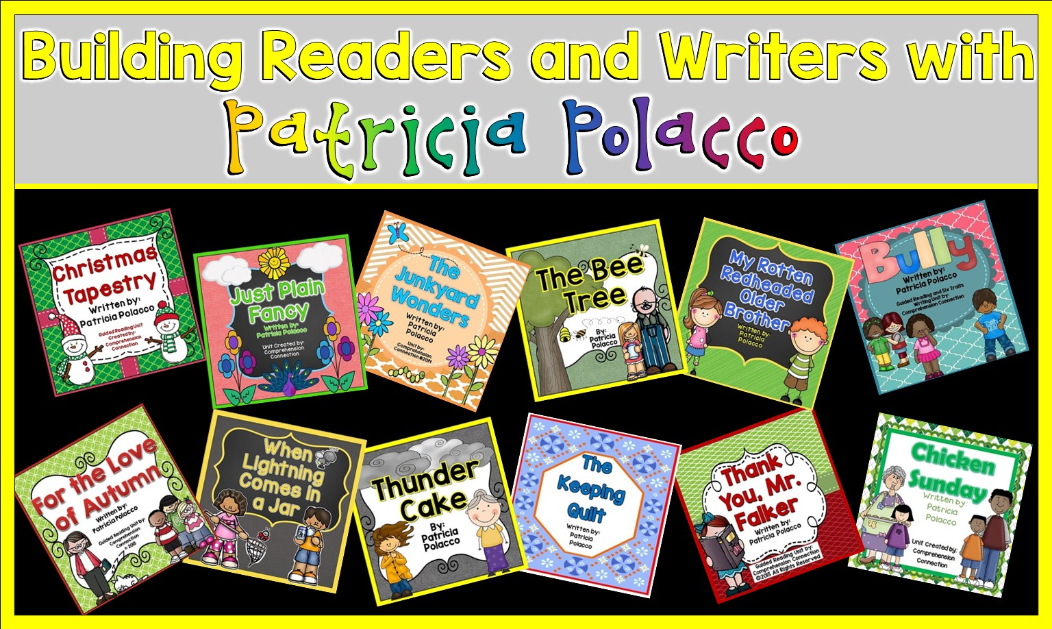 Are you a Patricia Polacco fan? Well, check out this post to get ideas for thirteen of her best titles.