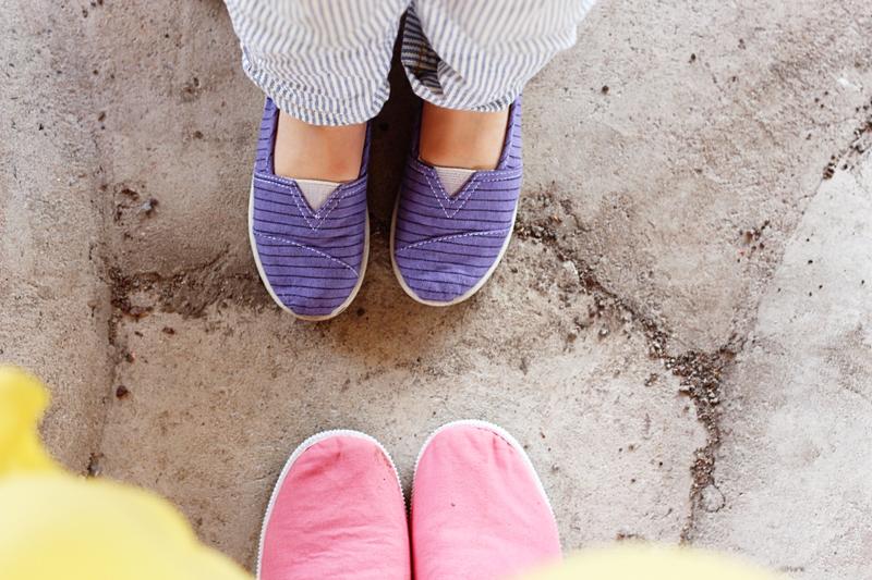 dylon DIY pastel shoes