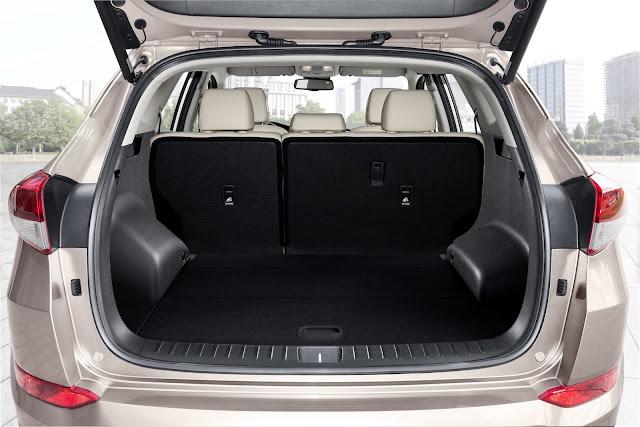 Interni Hyundai Tucson 2015