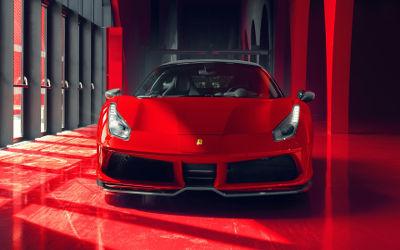 Ferrari 488 GTB Pogea Racing Fplus Corsa - Fond d'Écran en Full HD 1080p