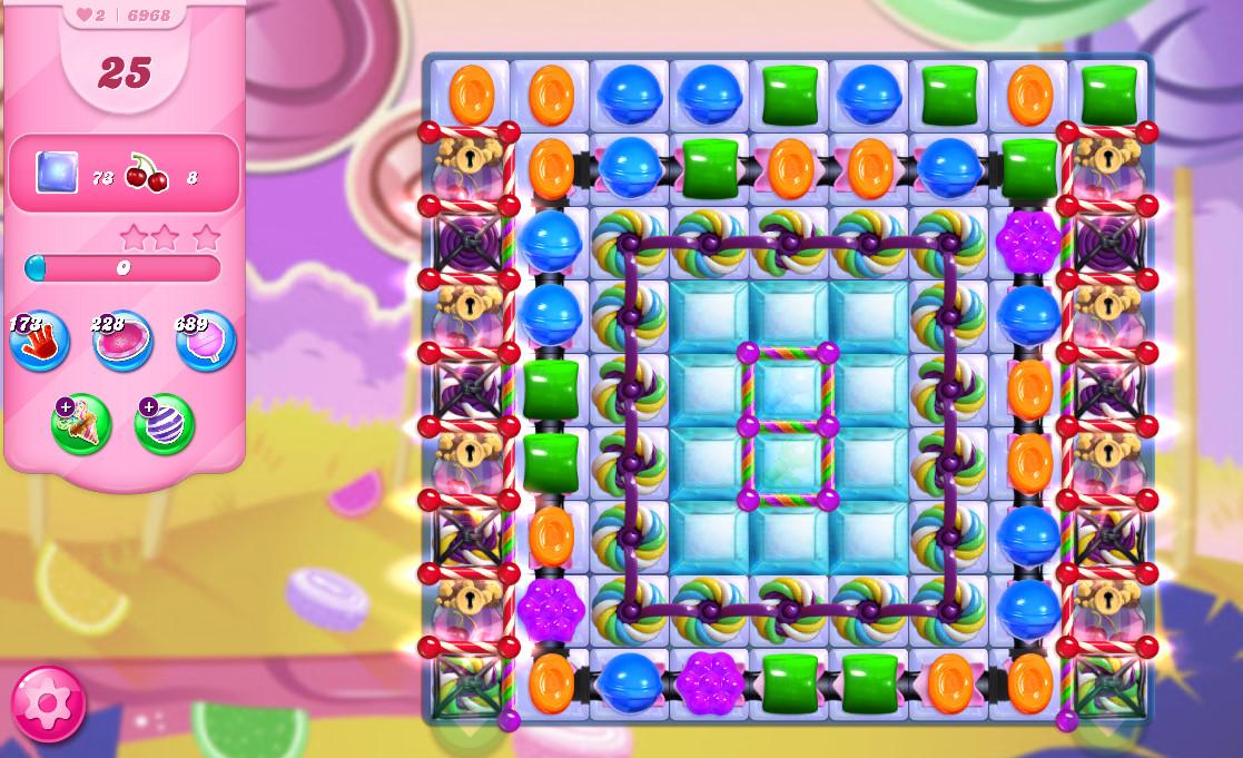 Candy Crush Saga level 6968