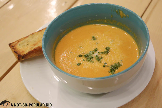 Smoked Tomato Soup of Earth Kitchen
