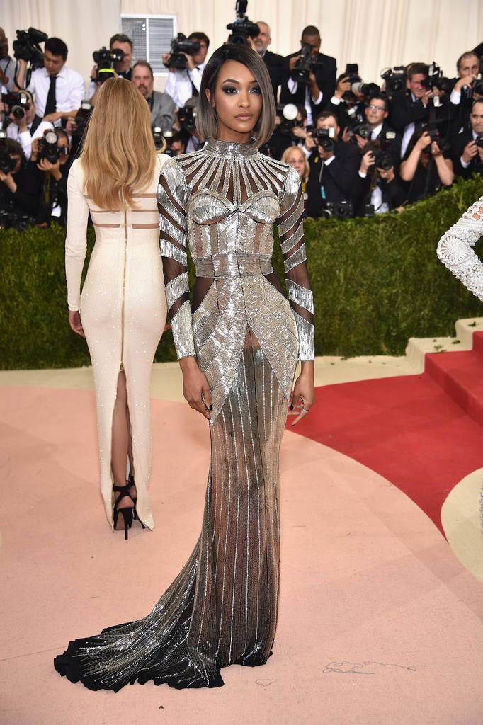 Jourdan Dunn at the 2016 MET Gala