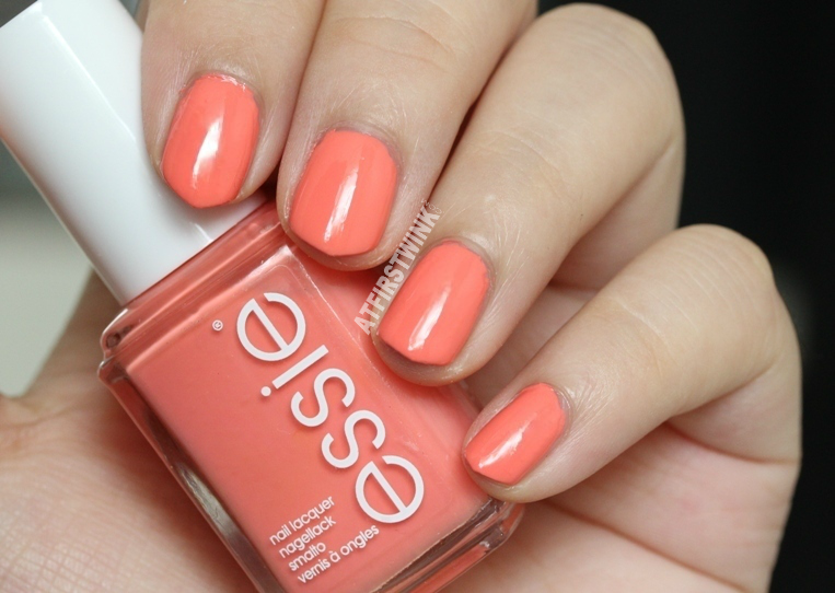 Essie nail polish tart deco swatches (2 coats)