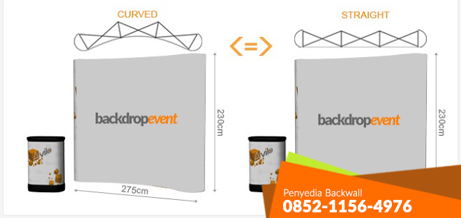 Rental Backwall Terbaik