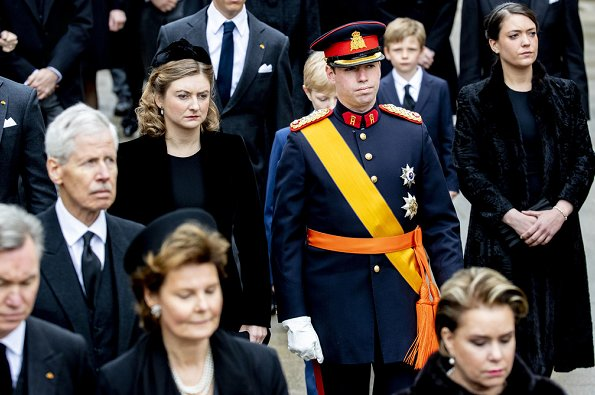 Hereditary Grand Duke Guillaume, Hereditary Grand Duchess Stephanie, Princess Alexandra