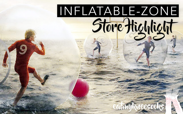 Today's post highlights some interesting recreational items from Inflatable-Zone, a shop that sells inflatable products like bouncy houses, zorb balls, and more! Details ahead!