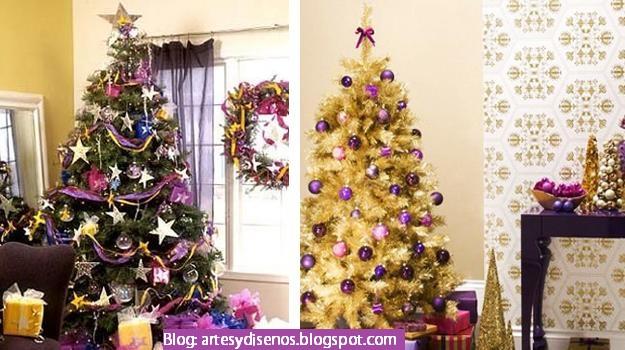 Disenos De Arboles Para Navidad Decoracion Del Hogar - Arboles-para-navidad