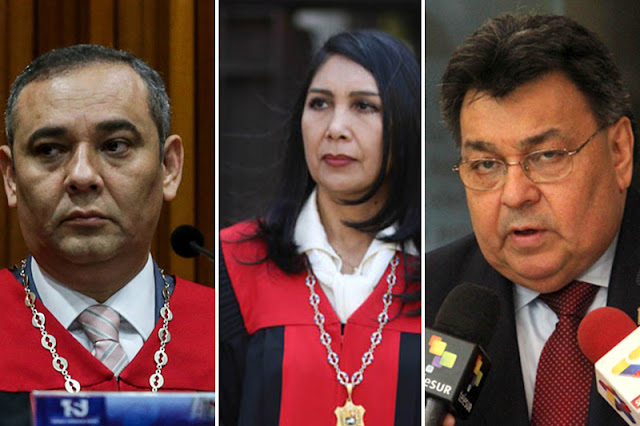 Estados Unidos sancionó a magistrados Chavistas