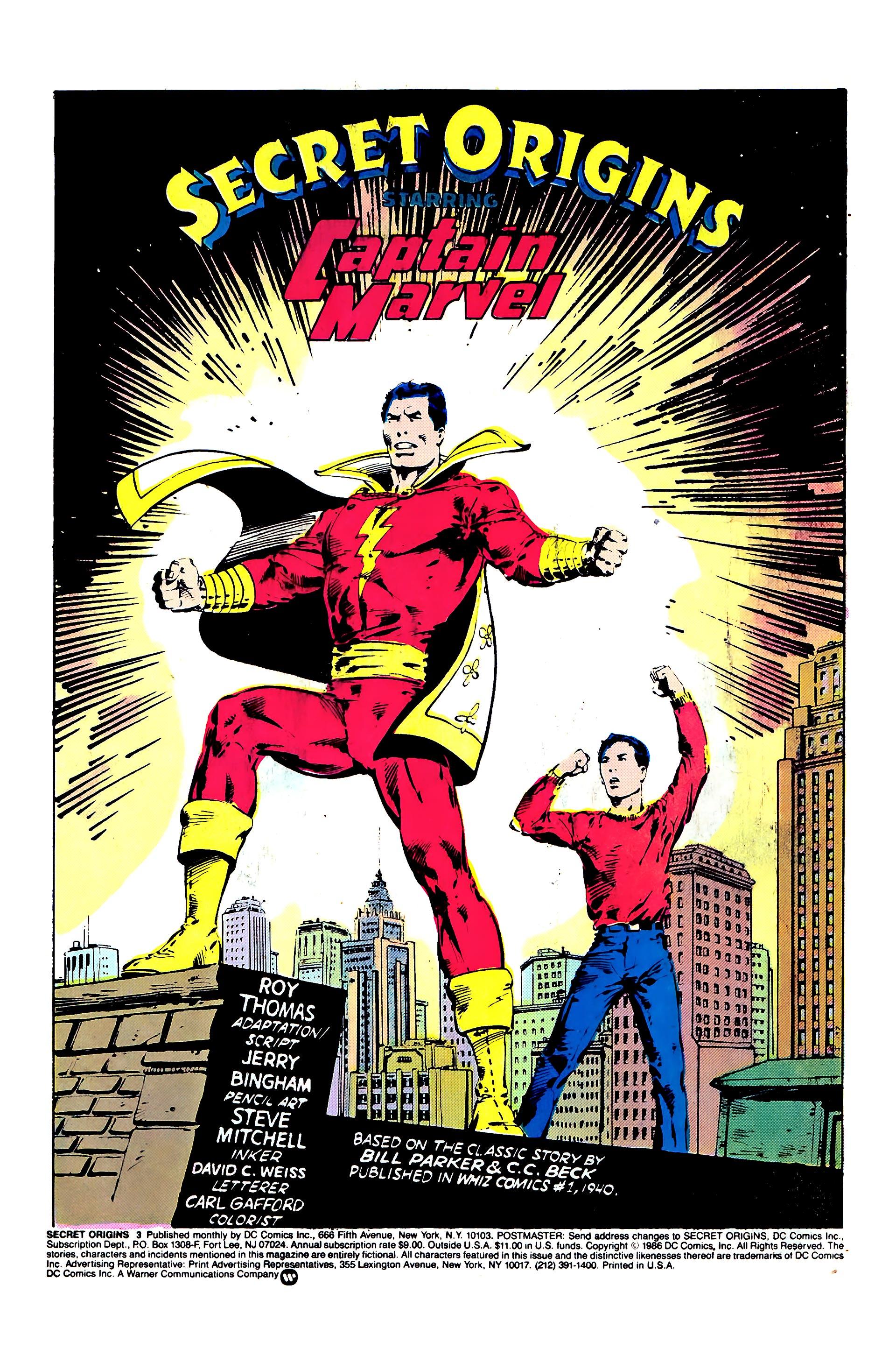 Read online Secret Origins (1986) comic -  Issue #3 - 3