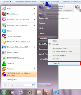 Cara Setting IP Jaringan dan Workgroup di Windows 7