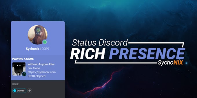 Cara Custom Status Playing Rich Presence di Discord