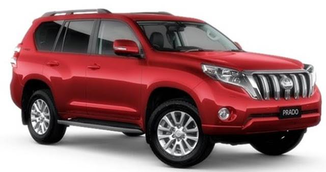 Toyota Prado 2018 Facelift
