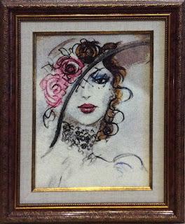 Вышивка по картине Фатимы Томаевой