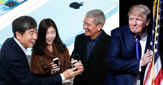 China amenaza prohibir el iPhone por triunfo de Trump