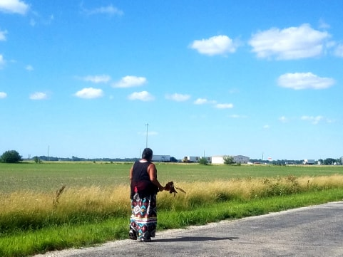 Grandmothers Walking -- Photos by Bad Bear