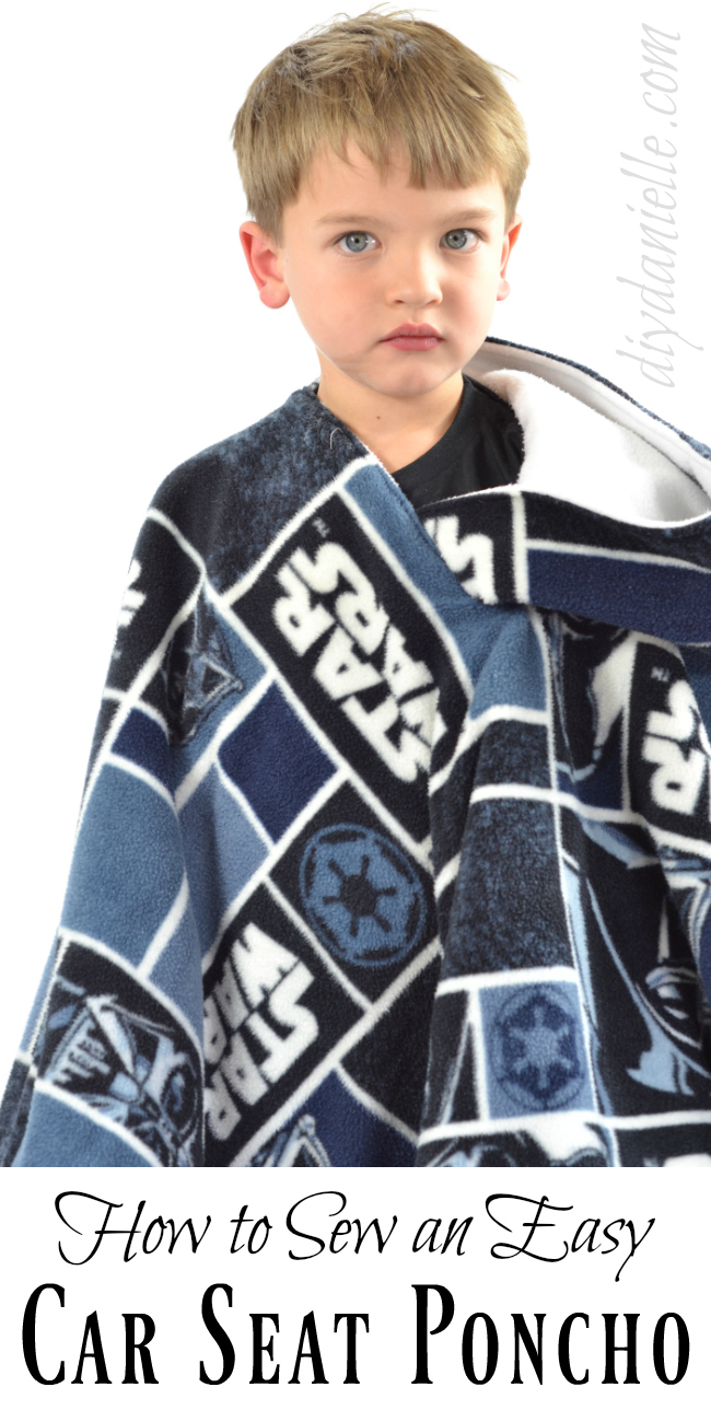 Carseat Poncho Tutorial