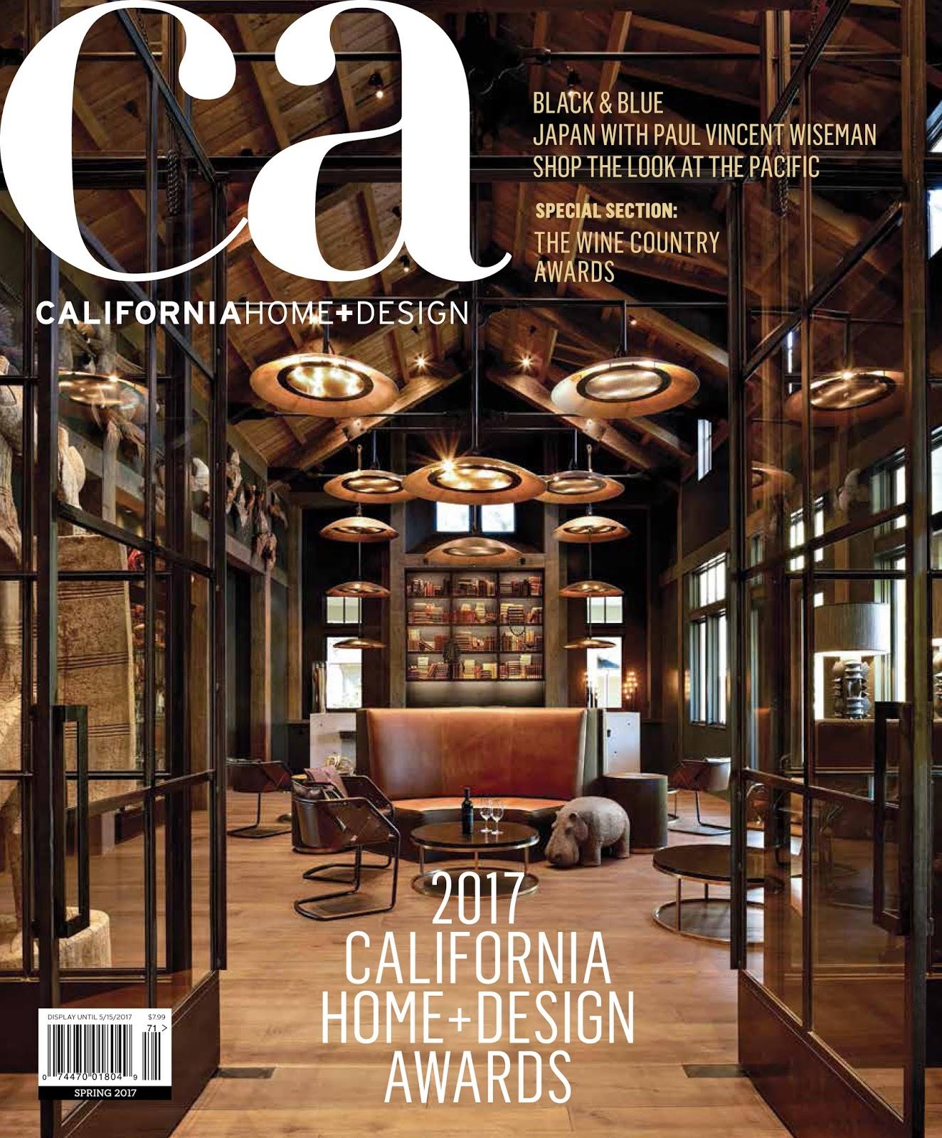 California Home + Design Spring 2017