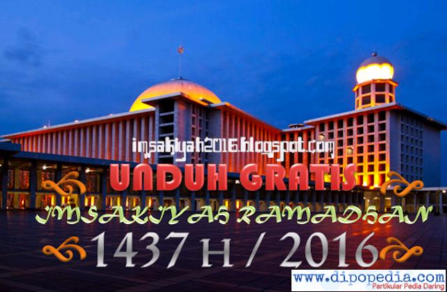 Unduh Gratis Imsyakiah Ramadhan 1437 H / 2016 - Imsakiyah2016