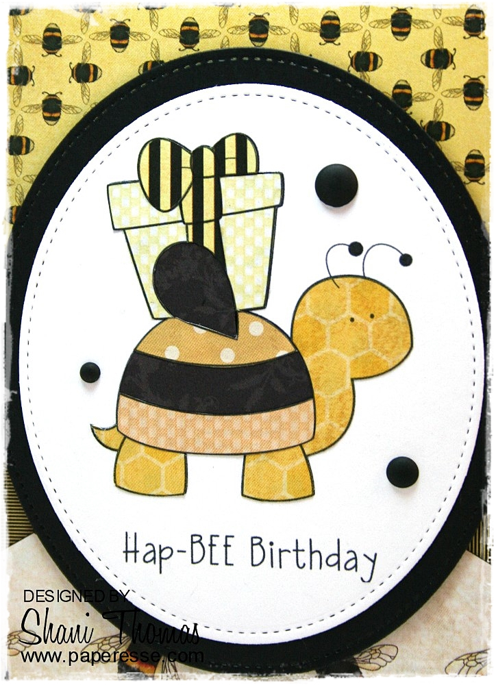Paperesse HapBEE Birthday card – Strange Birthday Card