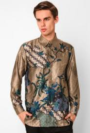 Model Baju Batik Pria Kombinasi Terbaru