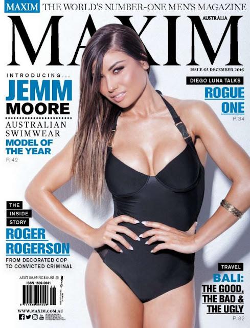 Jemm Moore – Maxim Australia Magazine