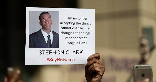 No Criminal Charges For Sacramento Police Officers Who Fatally Shot Stephon Clark