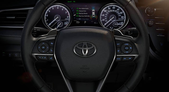 2018 Toyota Camry Prototype Features