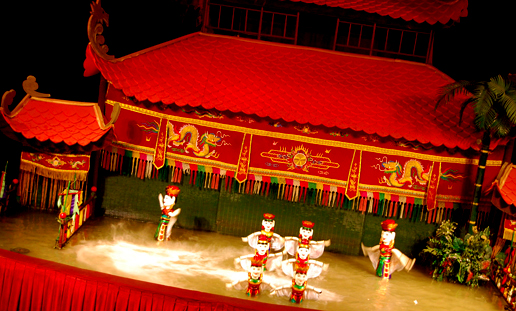bowdywanders.com Singapore Travel Blog Philippines Photo :: Vietnam :: The Water Puppet Show, Saigon