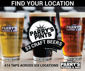 Parry's Pizza - 6 Locations