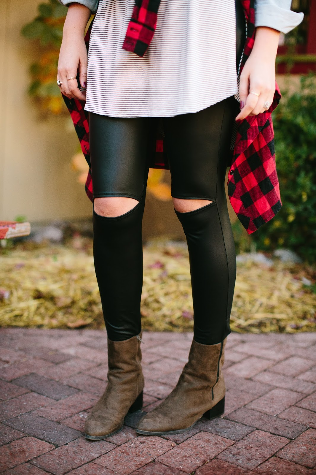 leather leggings, utah fashion blogger, booties