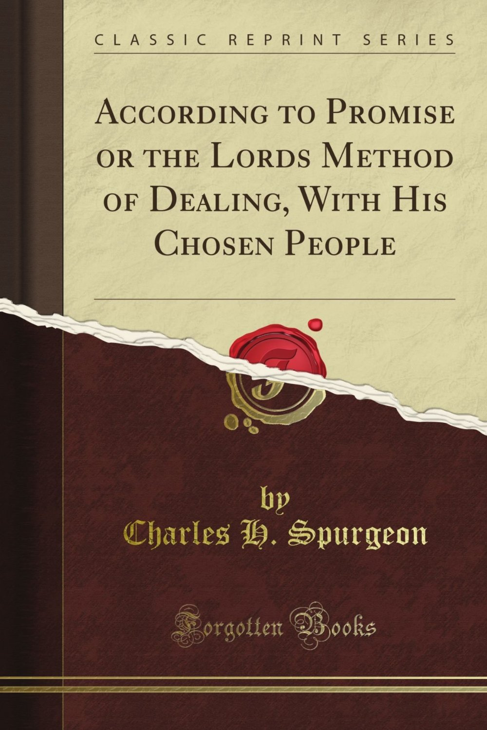 Charles Spurgeon-According To Promise-
