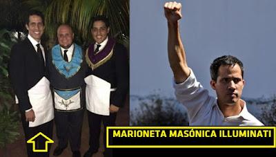 Juan Guaidó autoproclamado presidente de #Venezuela una marioneta masón illuminati #Katecon2006