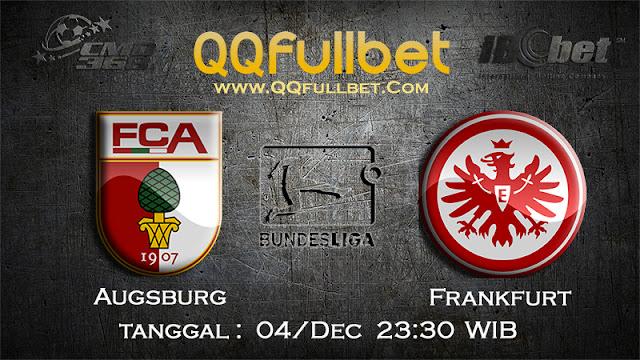 PREDIKSI BOLA - PREDIKSI TARUHAN BOLA AUGSBURG VS FRANKFURT 04 DESEMBER 2016 (BUNDESLIGA)