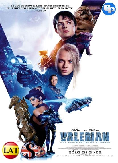 Valerian y la Ciudad de los Mil Planetas (2017) HD 1080P LATINO/INGLES