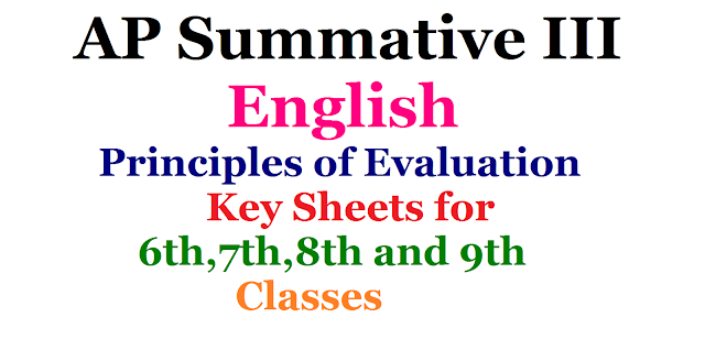 AP Summative 3 / SA 3 English Key Sheets for 6,7,8 and 9th Classes| 6th/7th/8th/9th class SA 3 English Answers| CCE English Answer Sheets| english summative 3 answers| key for 6th,7th,8th,9th class english key summative 3 principles of Evaluation| key for summative 3 english paper 1 and paper 2 class wise answers| key download for 6th,7th,8th,9th class Summative Assessment 3 | principles of evaluation for 6th,7th,8th,9thclass| SA3 2017 march principles of evaluation | English SA3 Keysheet| key prepared by APSCERT Summative Assesment 3| SA3 English 2017 March paper 1 and paper 2 class wise anwers download for 6th,7th,8th,9th| 9th class English SA 3| SA 3 2017 March key Sheet for 8th class english Answers| SA 3 2017 March key Sheet for 6th class english Answers| SA 3 2017 March key Sheet for 7th class english Answers| SA 3 2017 March key Sheet for 9th class english Answers| Summative Assessment III Answers/ Principles of Evluation Indicators/2017/03/ap-summative-3-sa-3-english-principles-of-evaluation-key-sheets-6th-7th-8th-9th-paper1-paper2-download.html