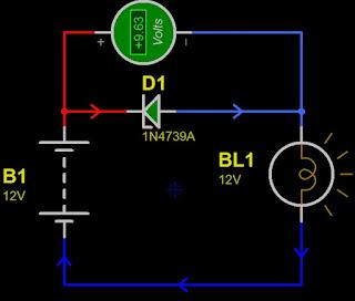 Circuit of as a regulator voltage