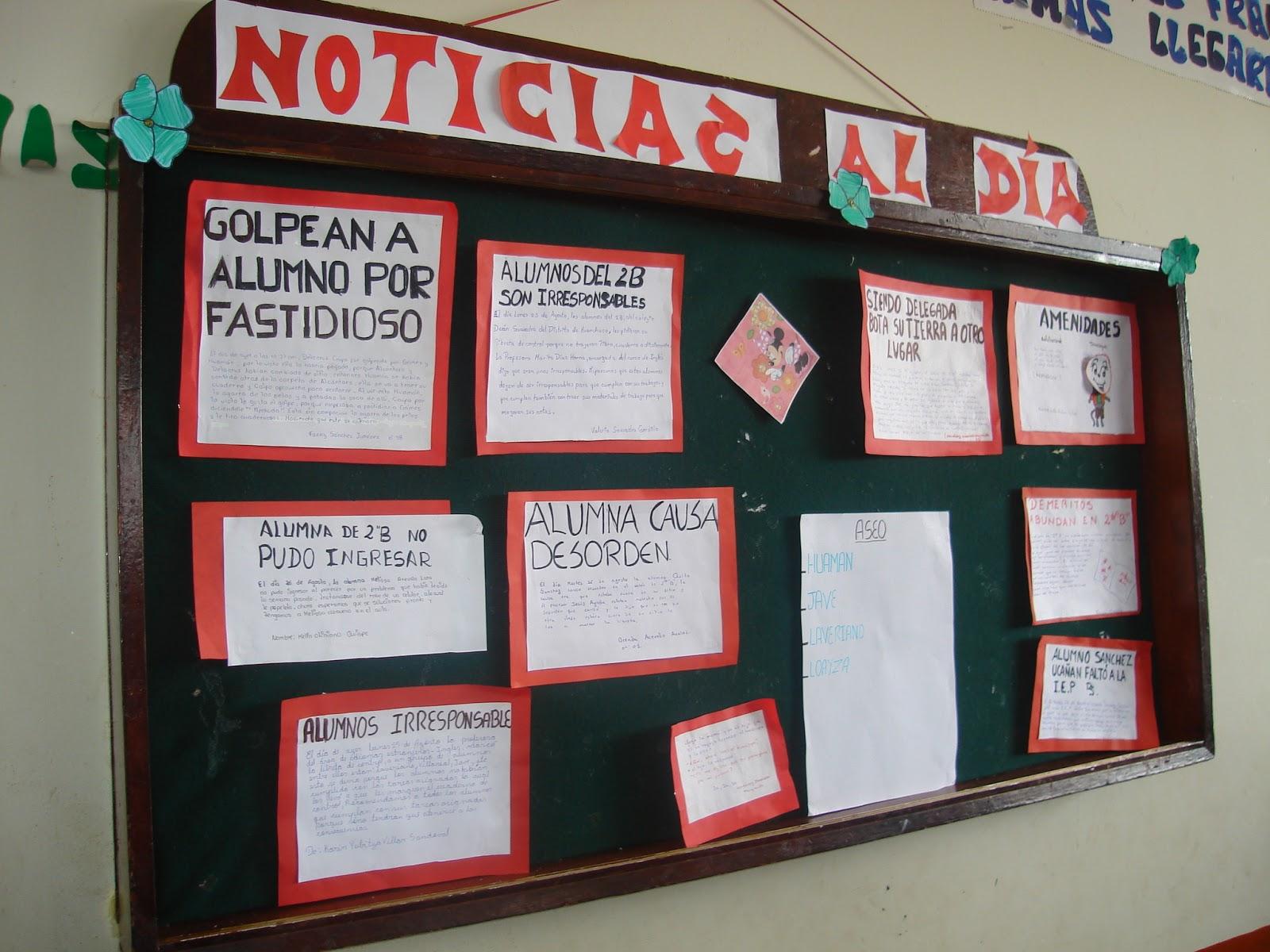Odec Trujillo Elaboracion De Periodicos Murales Como Alternativa