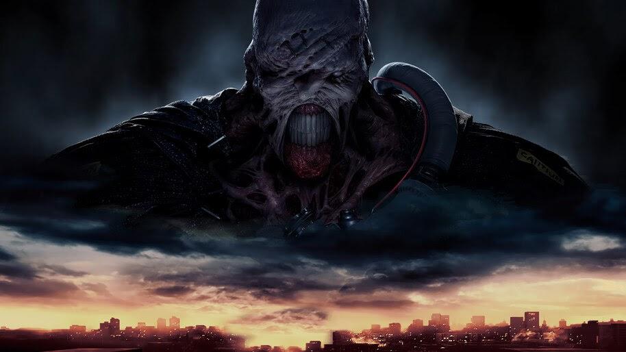 Resident Evil 3 Remake Nemesis 4k Wallpaper 7608