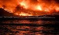 Έτσι φαινόταν η φωτιά στον Κάλαμο από την Εύβοια