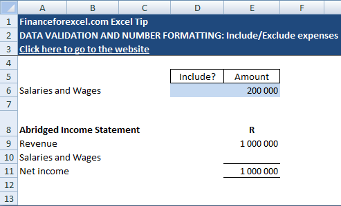 FinanceForExcel com by Geoff Noble: [MS EXCEL]: Create Yes