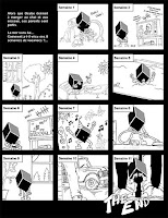 La vie d'Ocube mascotte blog BDocube information news actus actualités BD