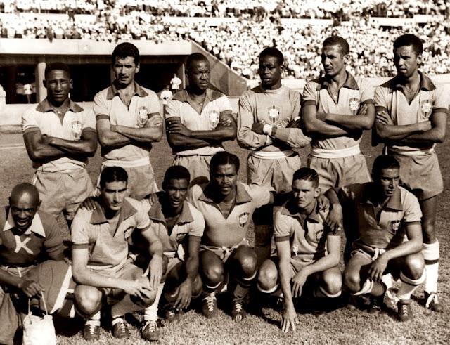 Formación de Brasil ante Chile, Clasificatorias Suiza 1954, 28 de febrero