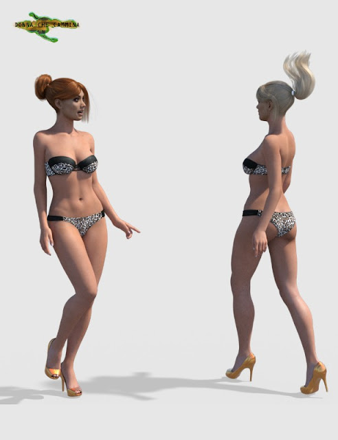 Next Walk Cycle Animation for Genesis 3 Female