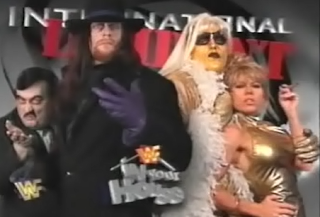 WWF / WWE - IN YOUR HOUSE 9: International Incident - Undertaker faced Goldust