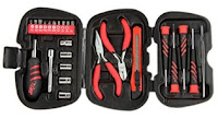 Skil 25 Piece Mini Hand Tool Set (Red and Black)