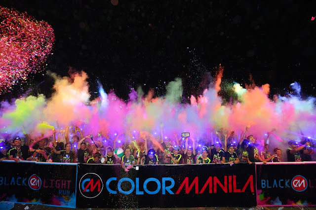 COLOR MANILA's CM BLACKLIGHT RUN is back! will be held at MCKINLEY WEST on FEBRUARY 24  Inbox x